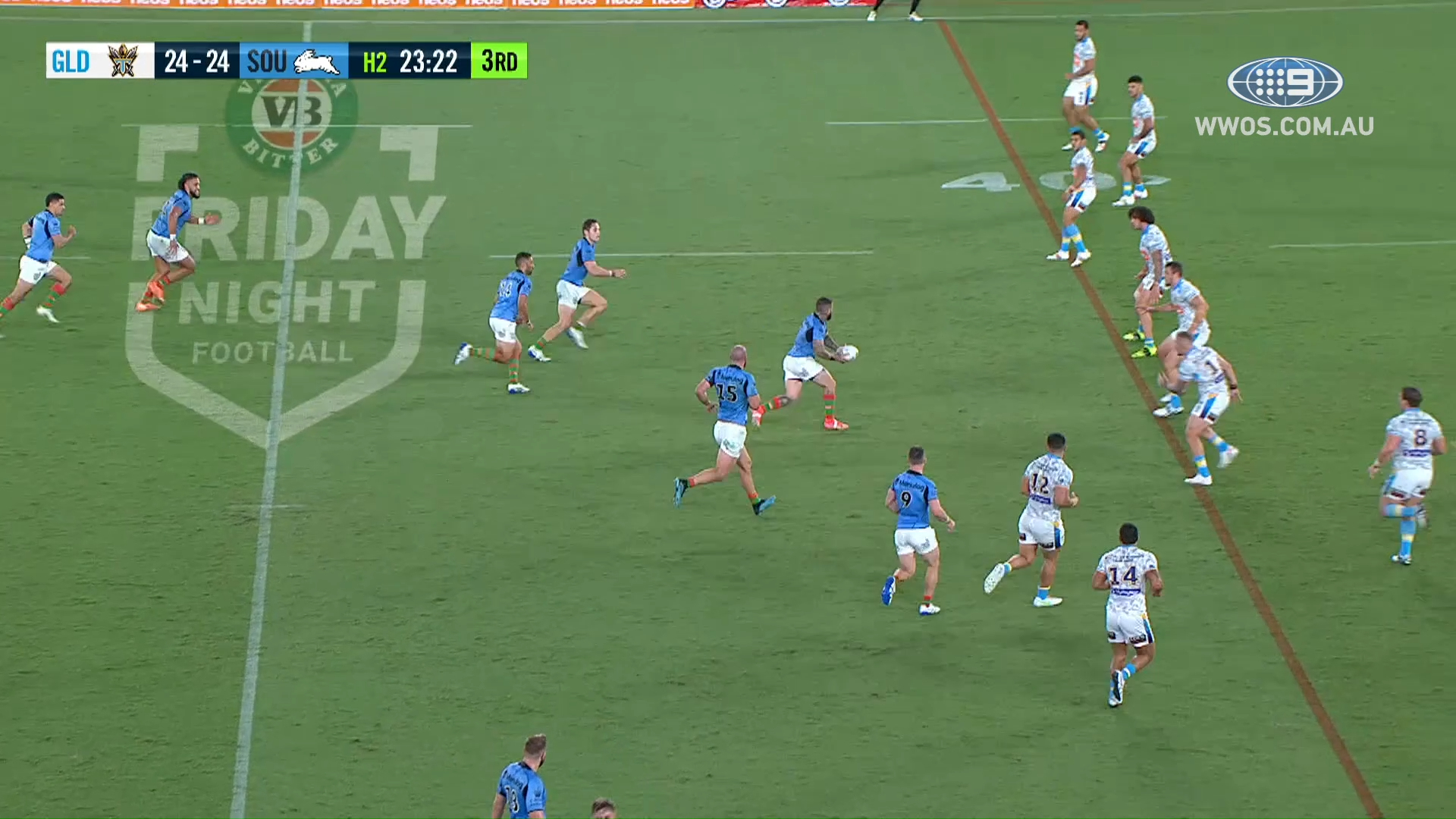 NRL Highlights: Souths win a thriller against the Titans - Round 7