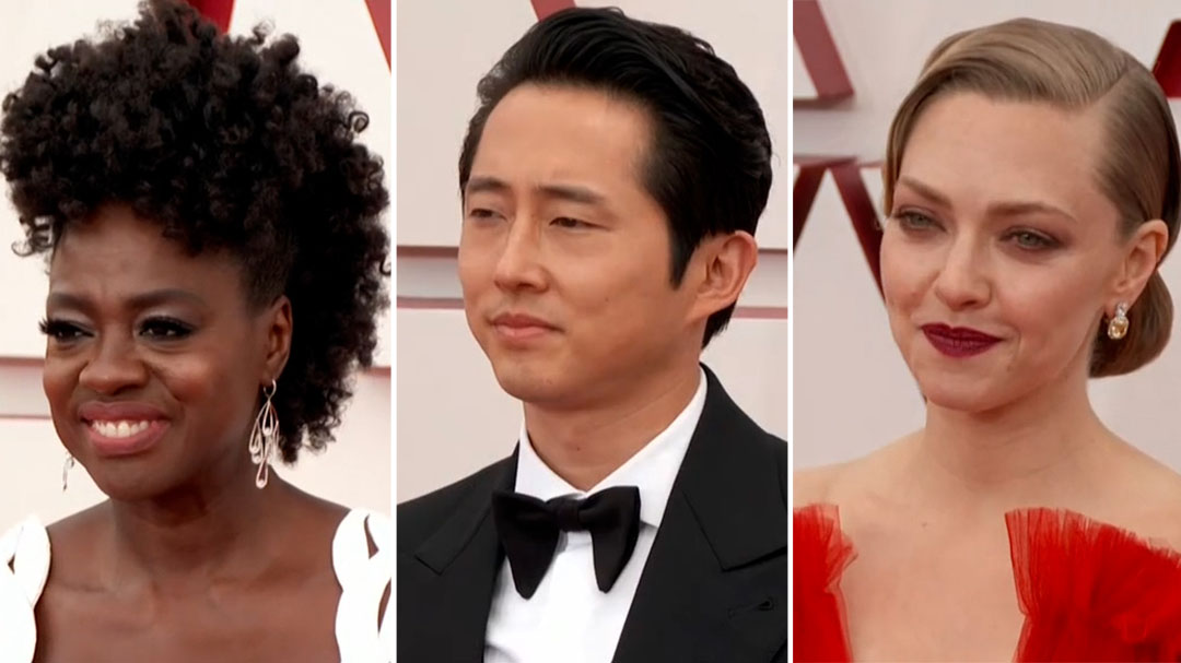 The best fashion moments from the 2021 Oscars