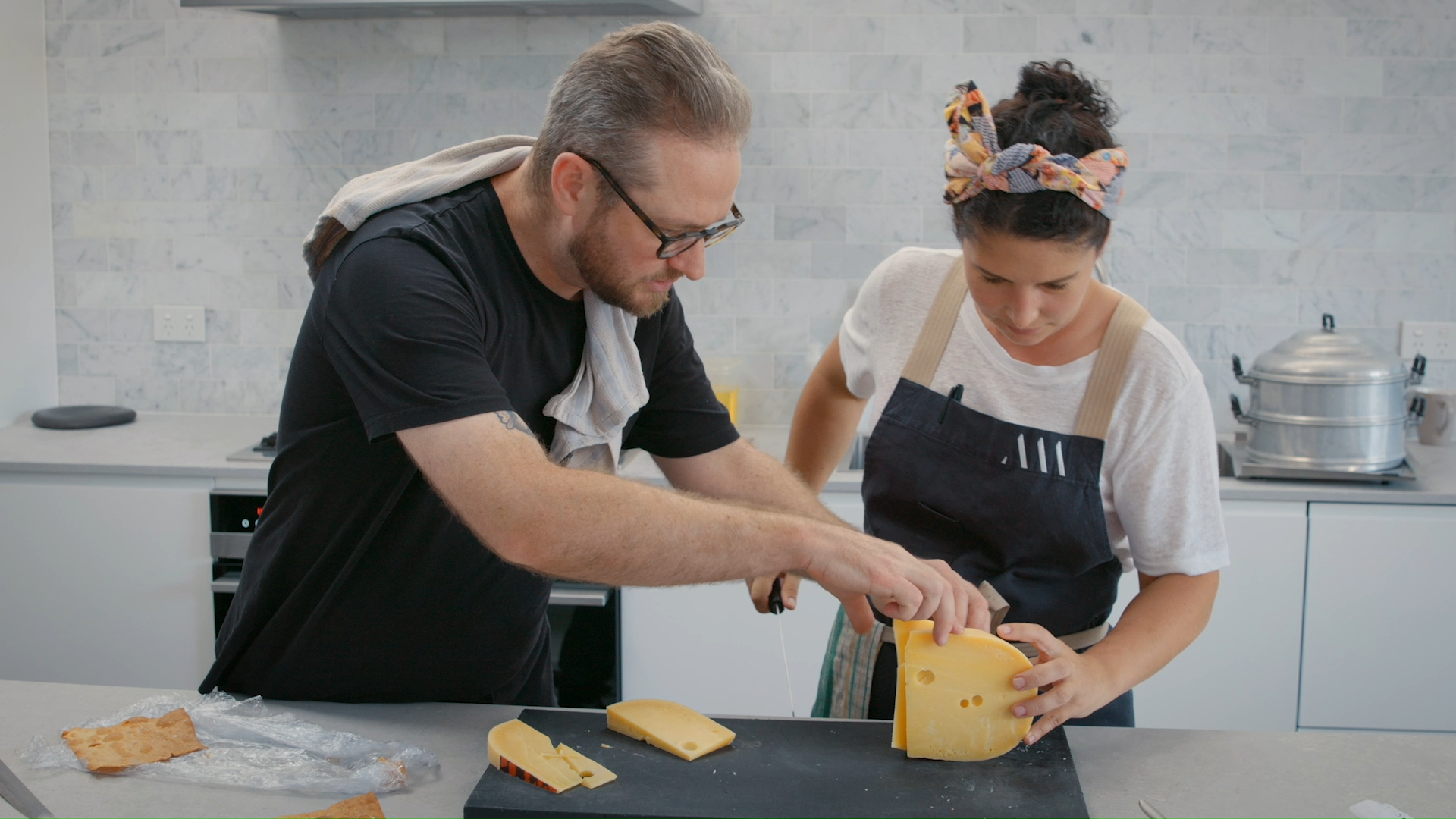 Top chefs Analiese Gregory and Clayton Wells launch Tastebuds