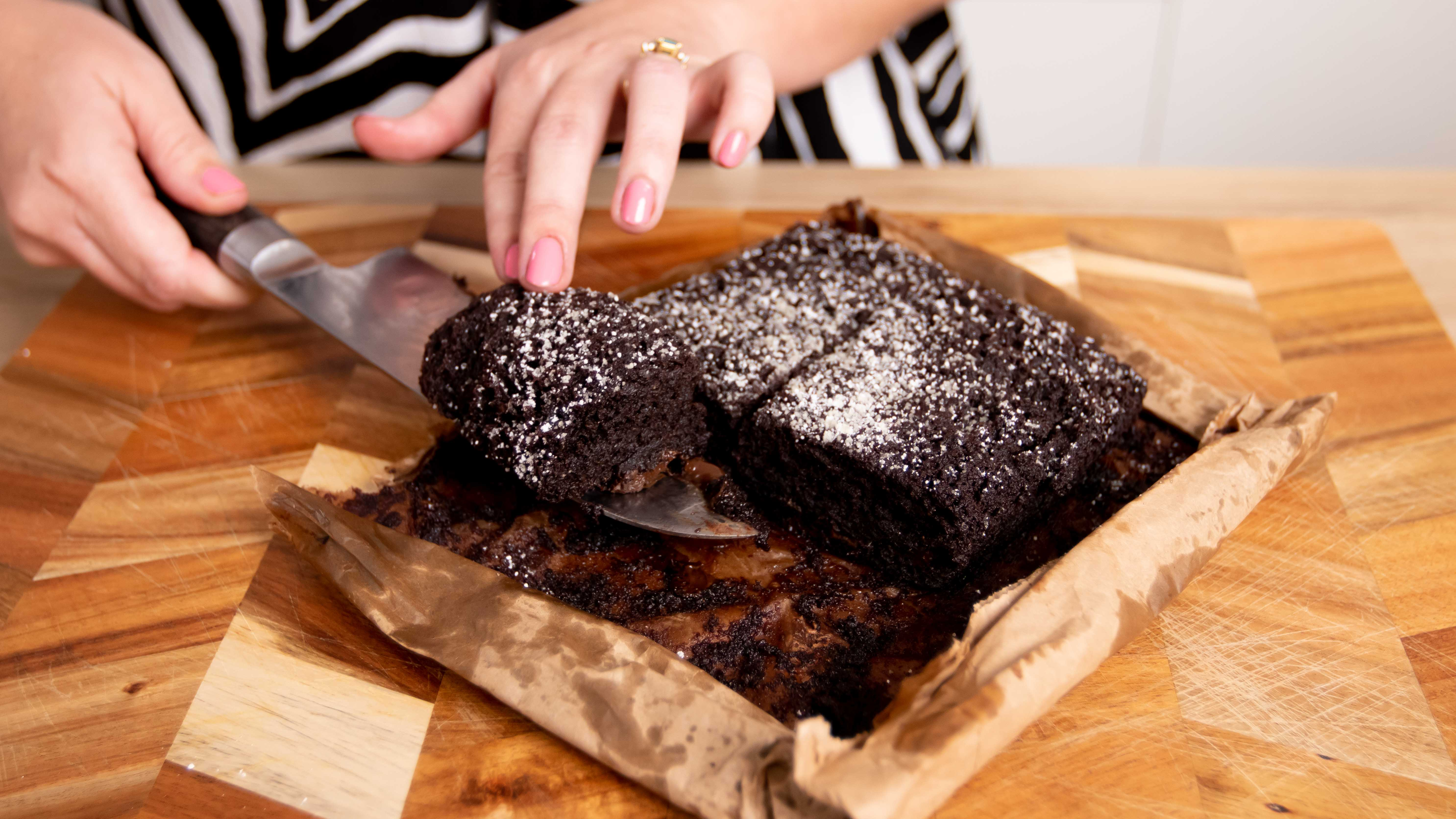 Yes, the microwave brownie cooked in a paper bag works
