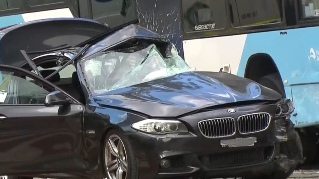 BMW driver charged over deadly Sydney bus crash
