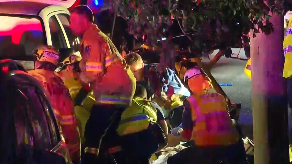 Sydney woman seriously injured after being dragged 25m with leg trapped under car
