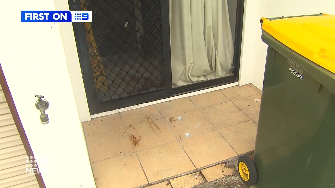 Locals disgusted as crime scene left untouched after alleged murder