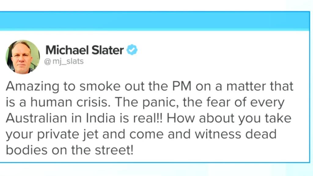 Agriculture Minister calls cricket commentator Michael Slater 'a spoiled prat'