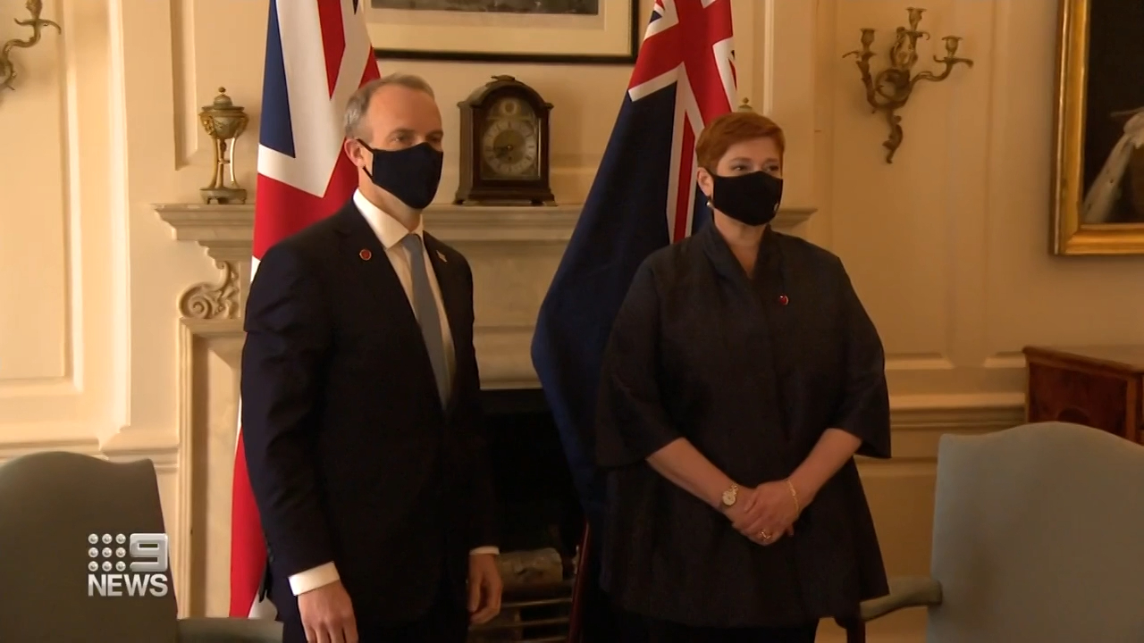 Marise Payne attends G7 in London