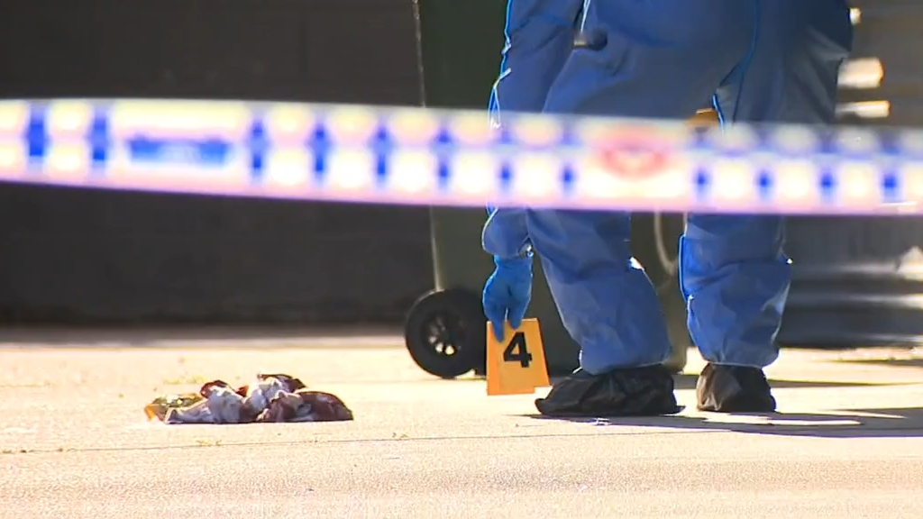 Man hit with brick outside Brisbane apartment