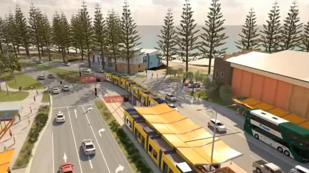 Gold Coast light rail gets federal funding boost
