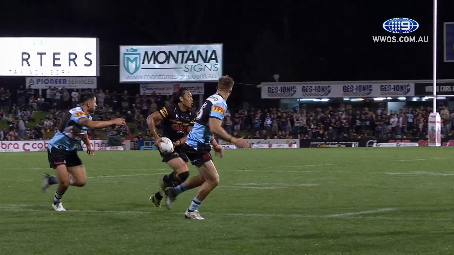 NRL Highlights: The Panthers run the Sharks out of Penrith - Round 9