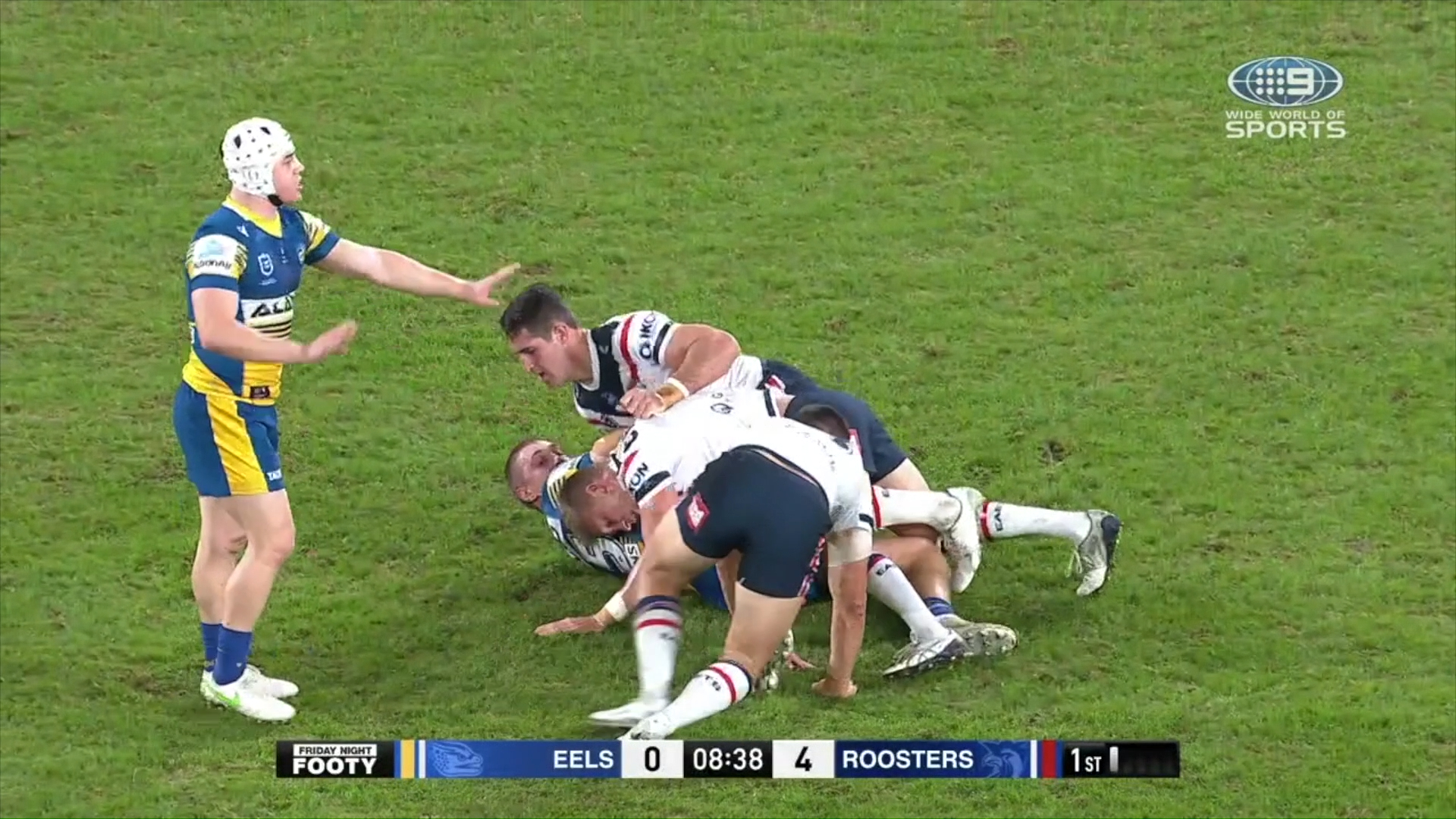 NRL Highlights: The Eels hold on against a injury riddled Roosters side - Round 9