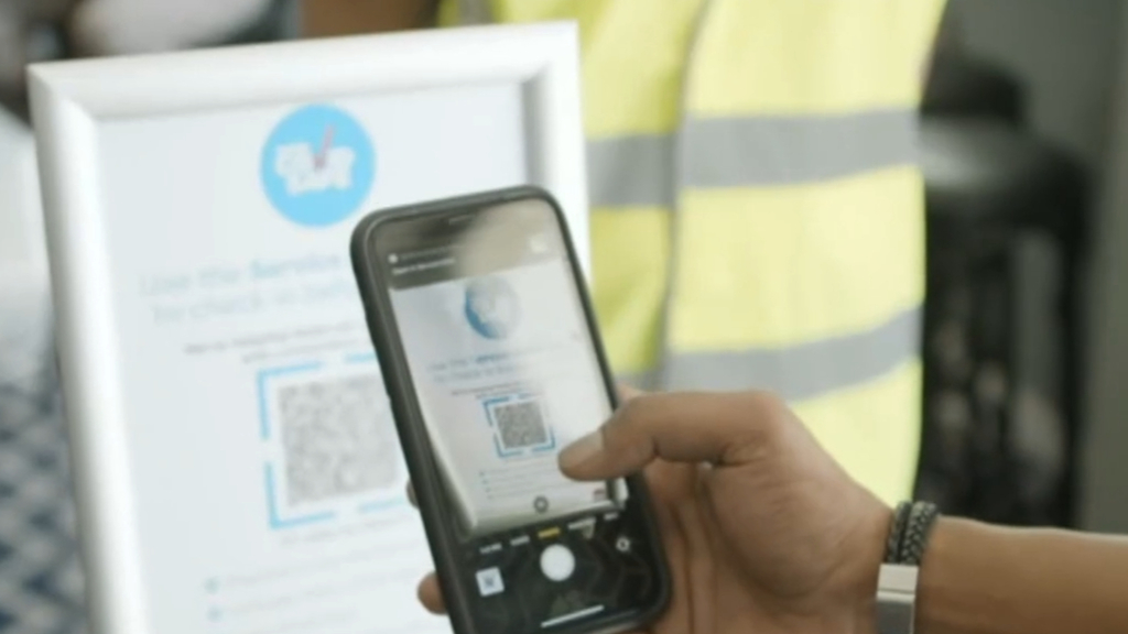 Eight-week undercover blitz to check QR code use