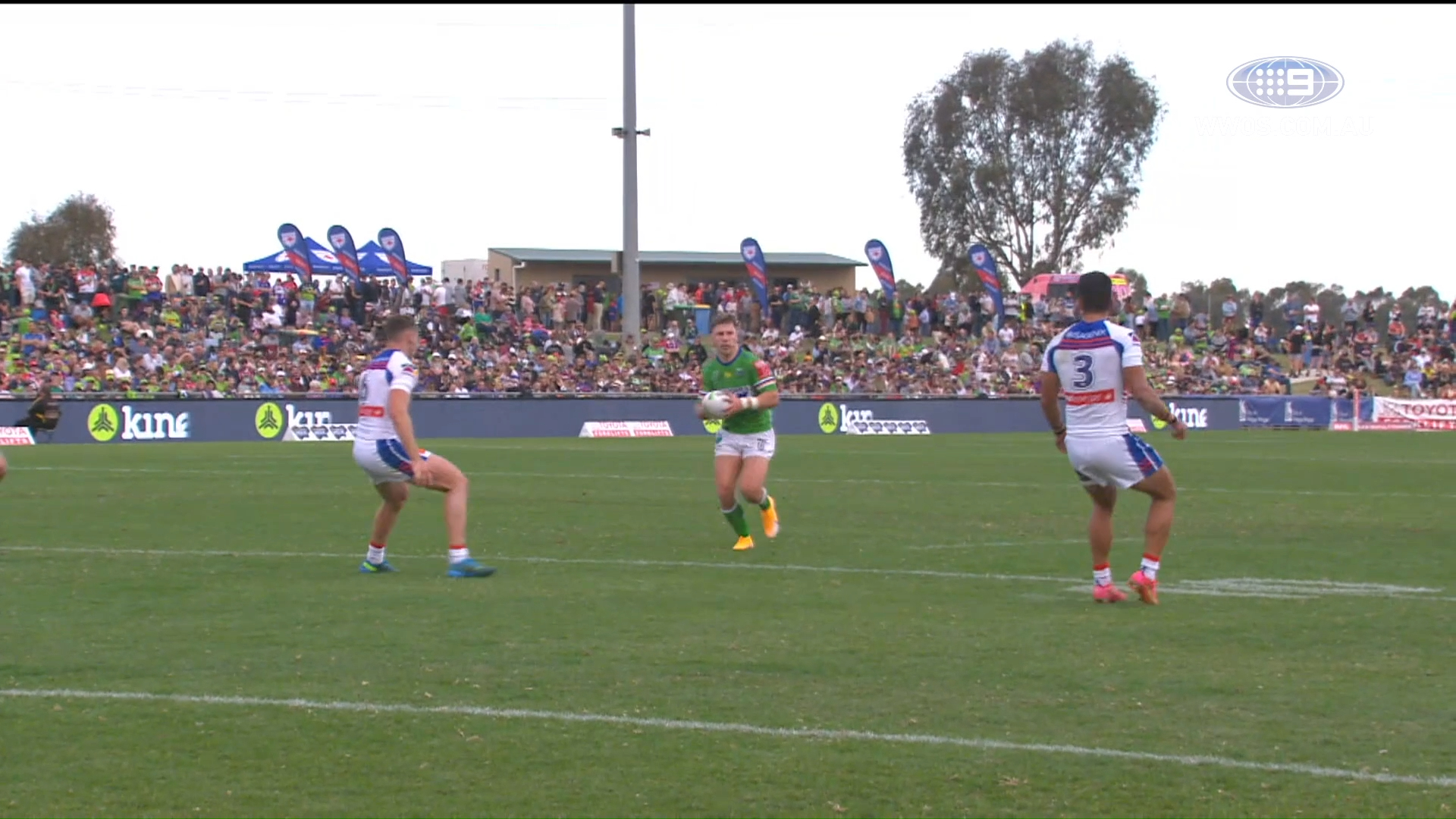 NRL Highlights: Knights fightback to edge out the Raiders in Canberra - Round 9
