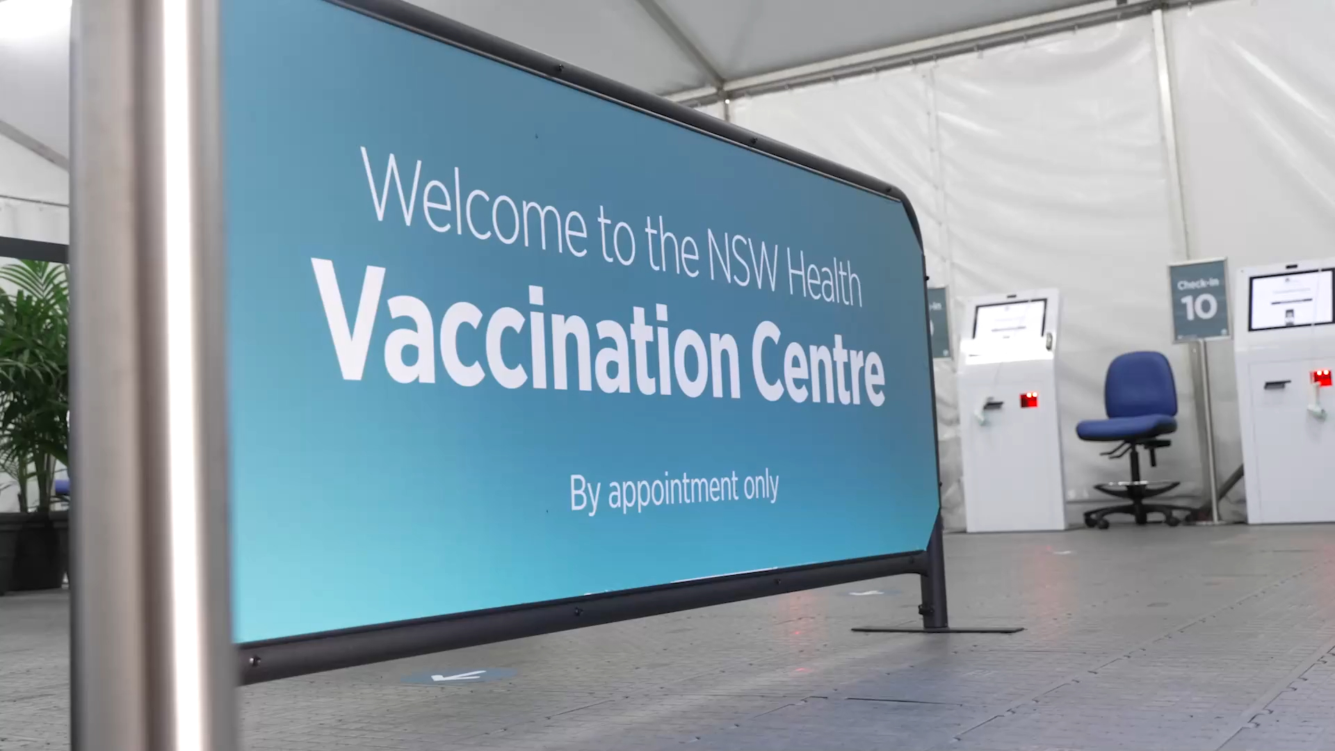 Long-awaited mass vaccination hub to open at Sydney Olympic Park tomorrow