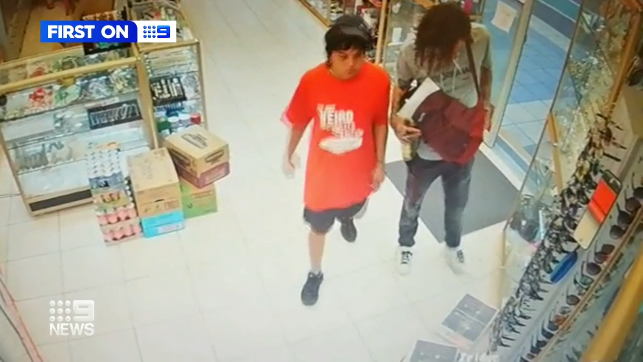 Shop owner punched in break-in