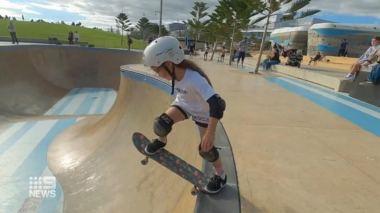 Six-year-old Perth girl a skating prodigy