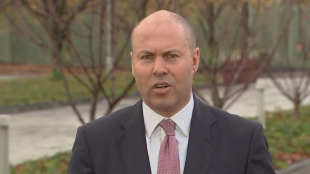 "Federal Budget 2021: Treasurer Josh Frydenberg says Australia ""makes its own luck"" with economy"