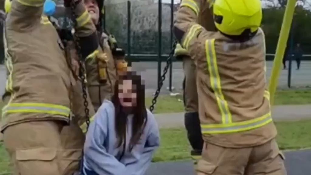 London firefighters plea for end to TikTok swing challenge