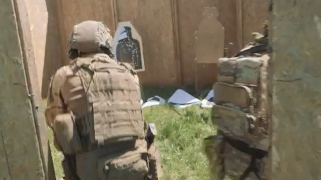 US Navy SEALS in Romania for Trojan Footprint war games