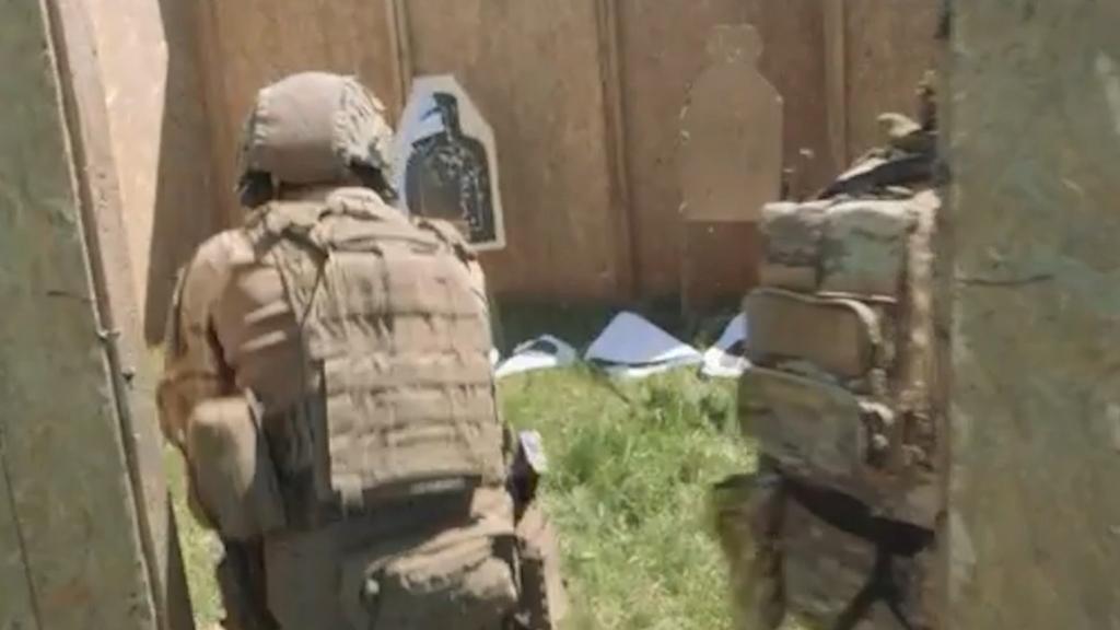 US Navy SEALS in Romania for Trojan Footprint war games