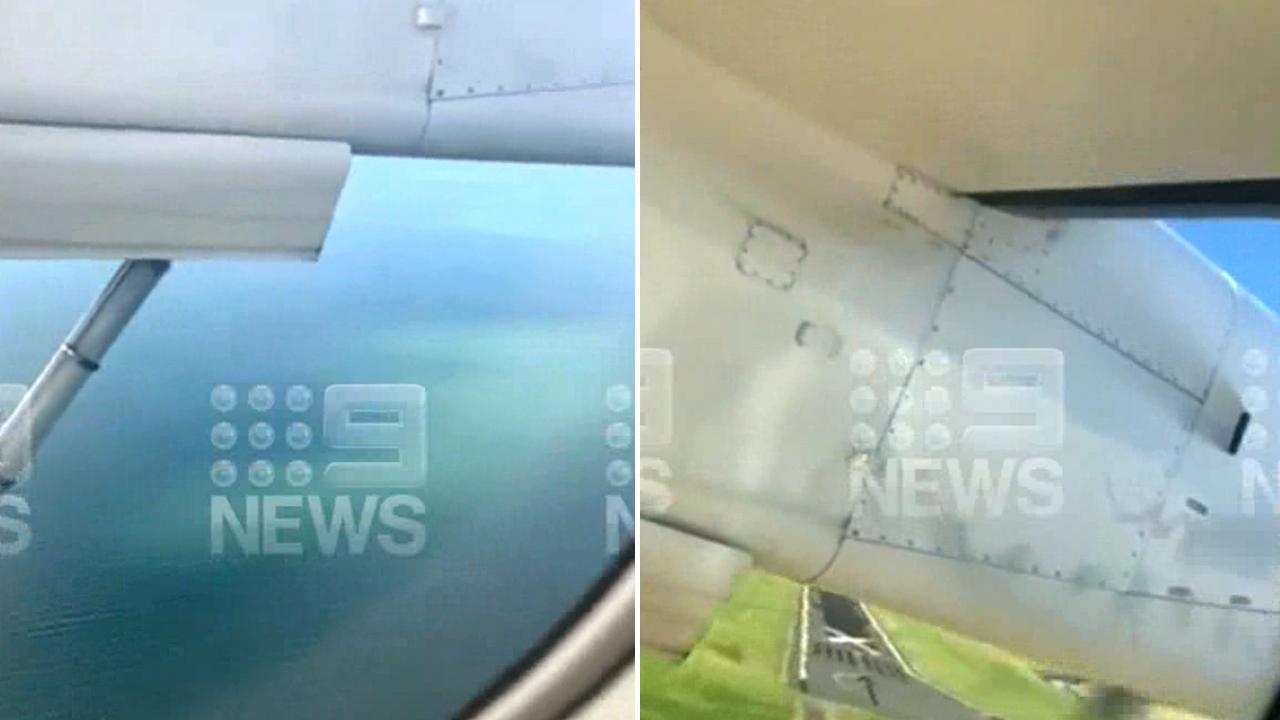 Passengers told to brace during Qantas landing at Brisbane Airport