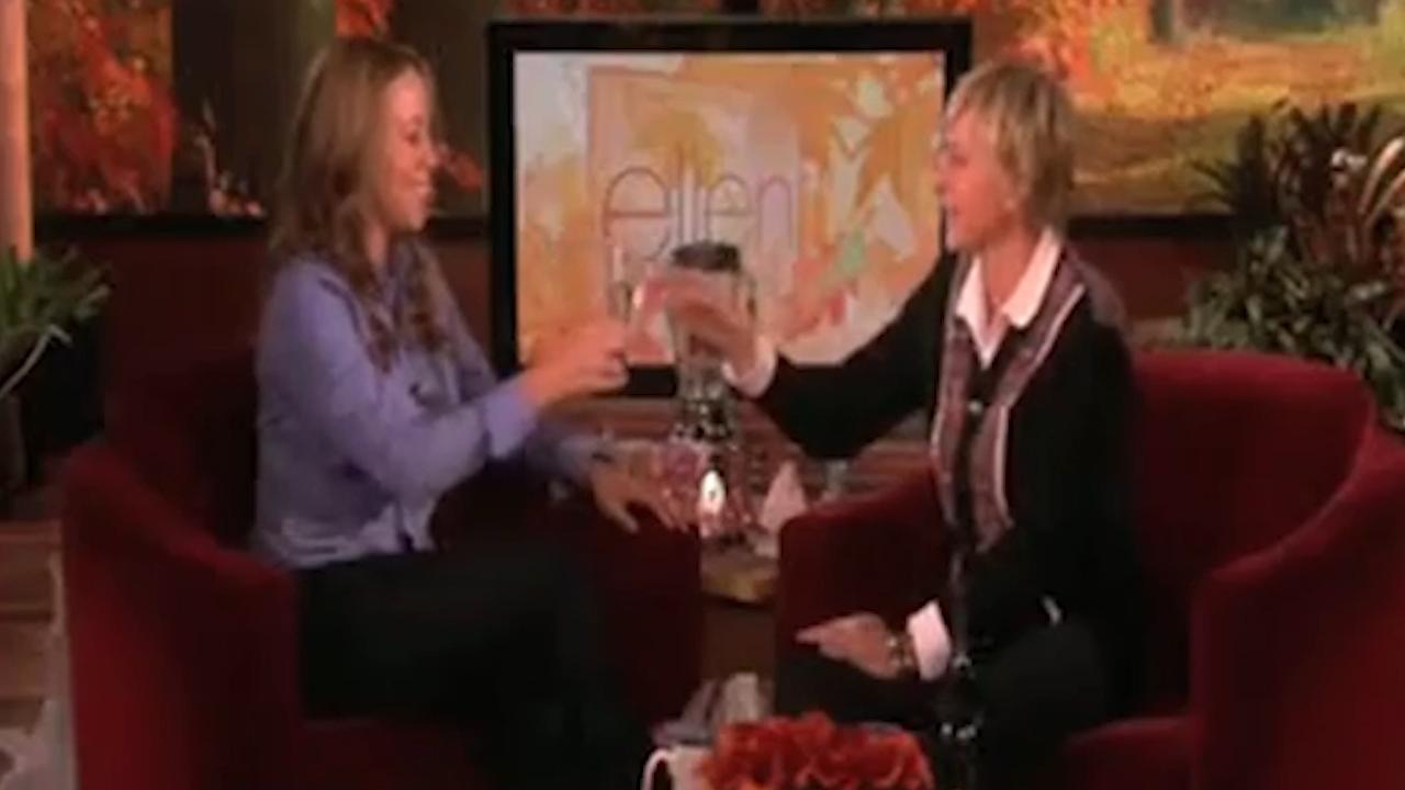 Mariah Carey refuses to discuss pregnancy in Ellen interview