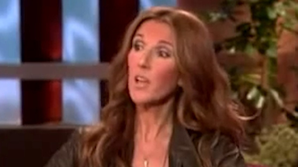 Celine Dion defends her choice not to cut her son's hair