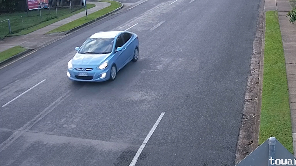 Queensland police seek CCTV of light blue sedan in connection with a homicide