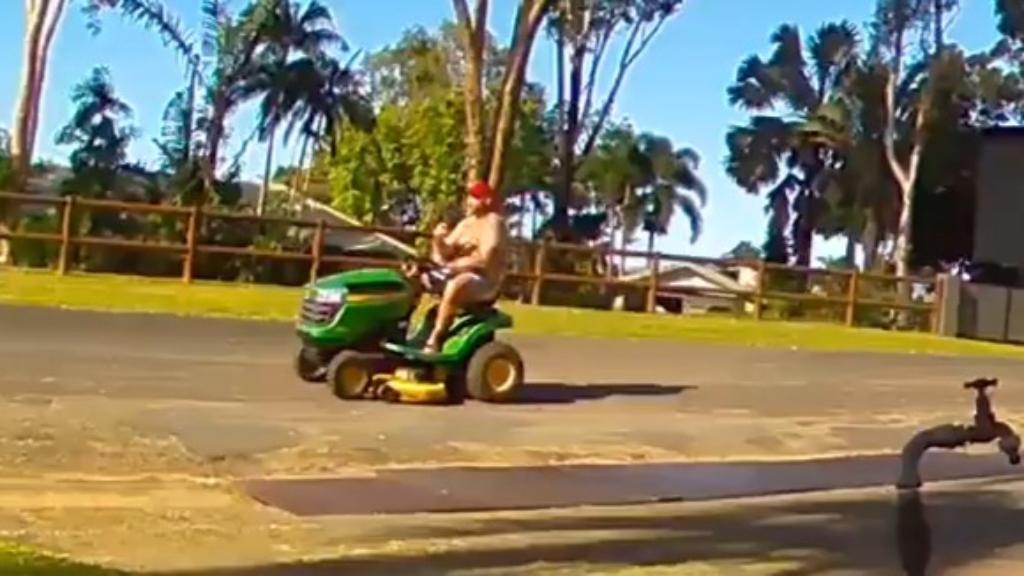 Man allegedly steals ride-on mower