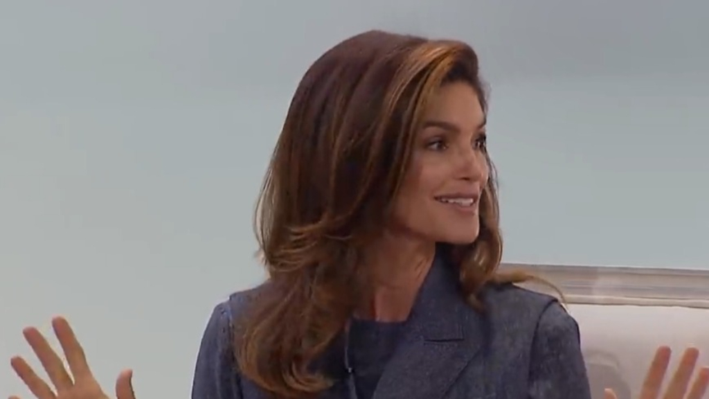 Cindy Crawford talks career and modelling