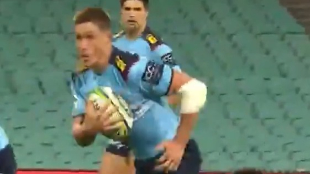 Captain's classy try assist