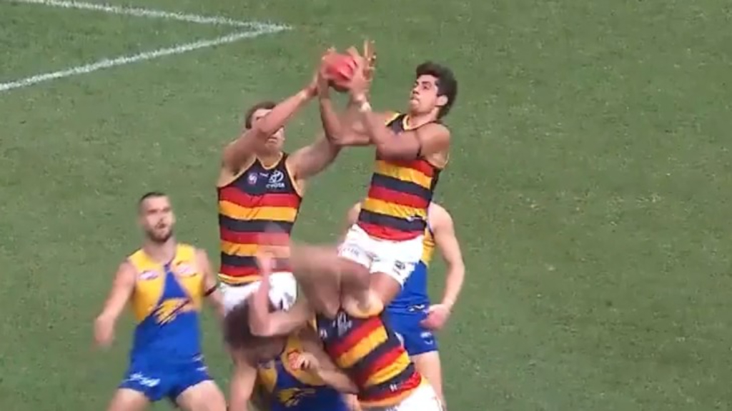 McAdam's monster mark against Eagles