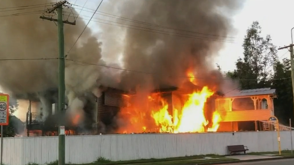 Brisbane man accused of setting house alight with women inside