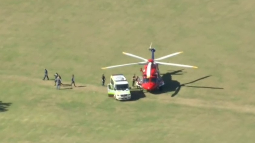 Man seriously injured after skydiving accident