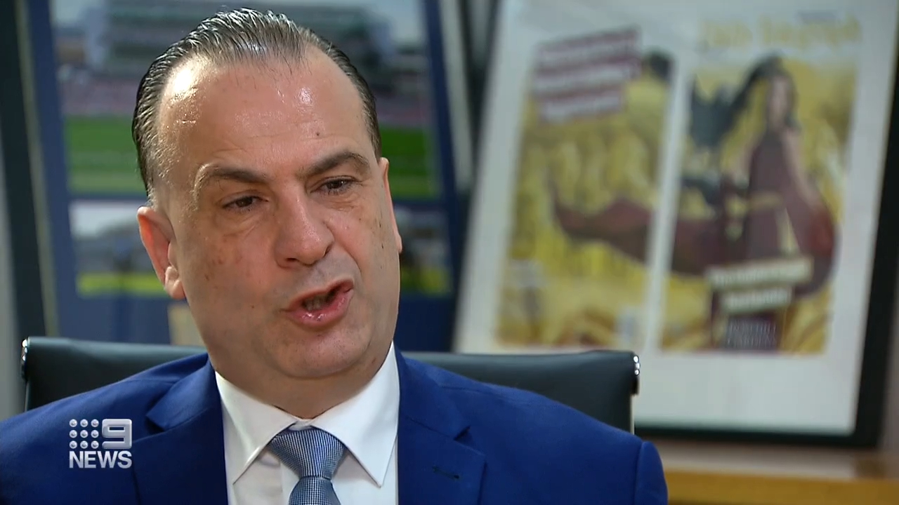 V'landys discusses the crackdown on high tackles