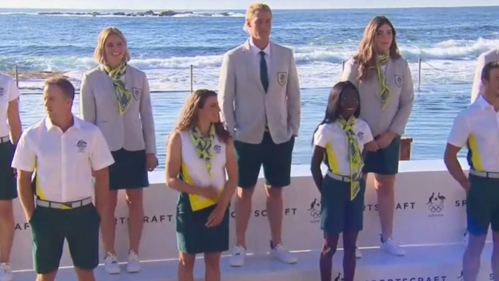 Australian Olympic opening ceremony uniform unveiled