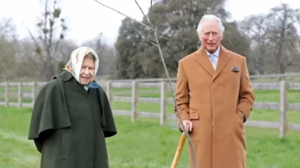 Queen and Prince Charles launch Queen's Green Canopy