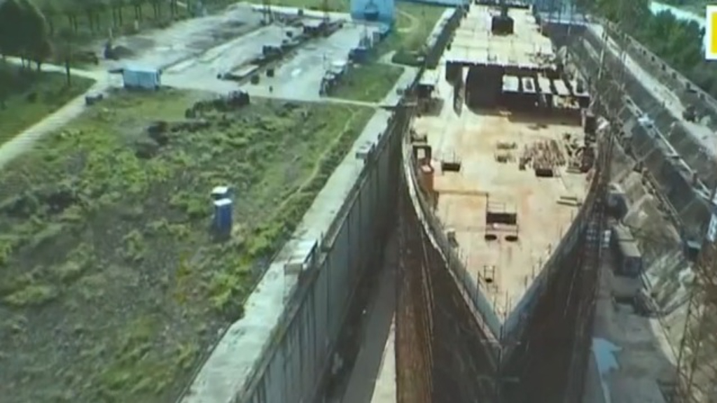 Titanic replica now under construction in China
