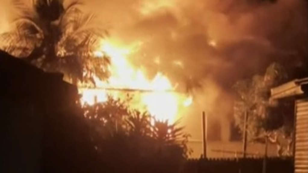 Woman rescued from NSW house fire