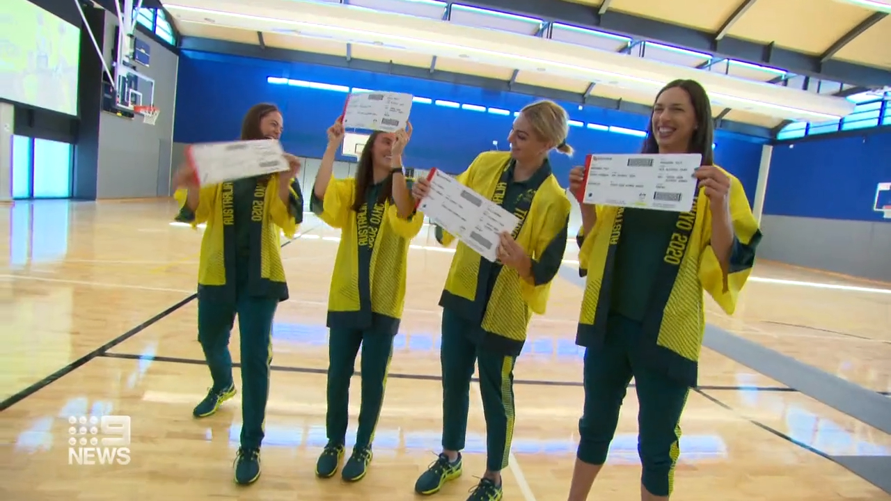 Opals ready for Tokyo Games
