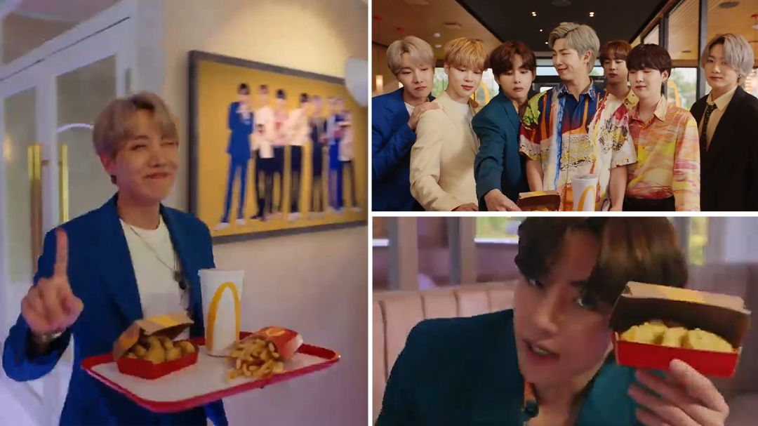 BTS star in new ad for McDonald's BTS Meal
