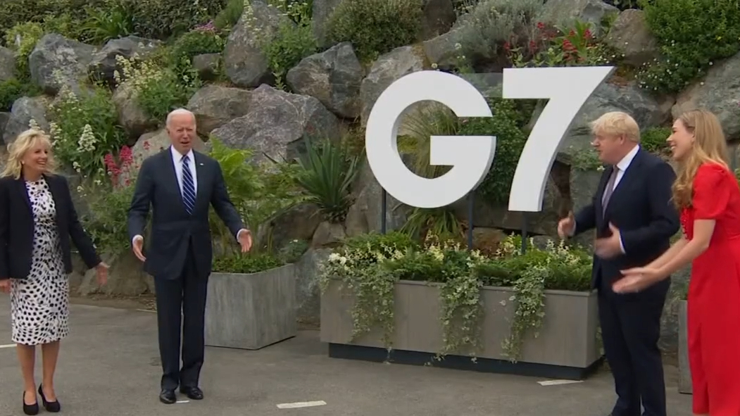 US President Joe Biden among leaders meeting for the G7 Summit
