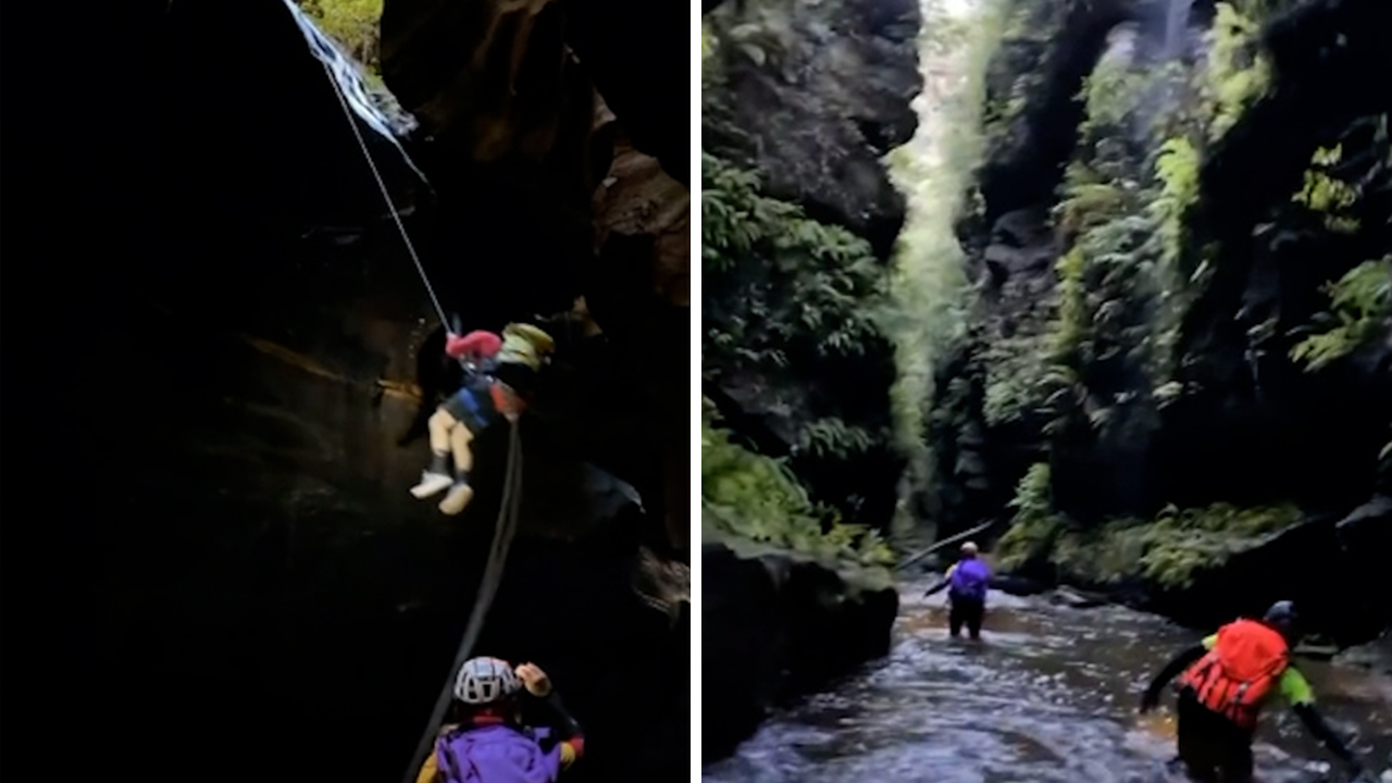 Lost Mountains teams explore the hidden reaches of the Blue Mountains