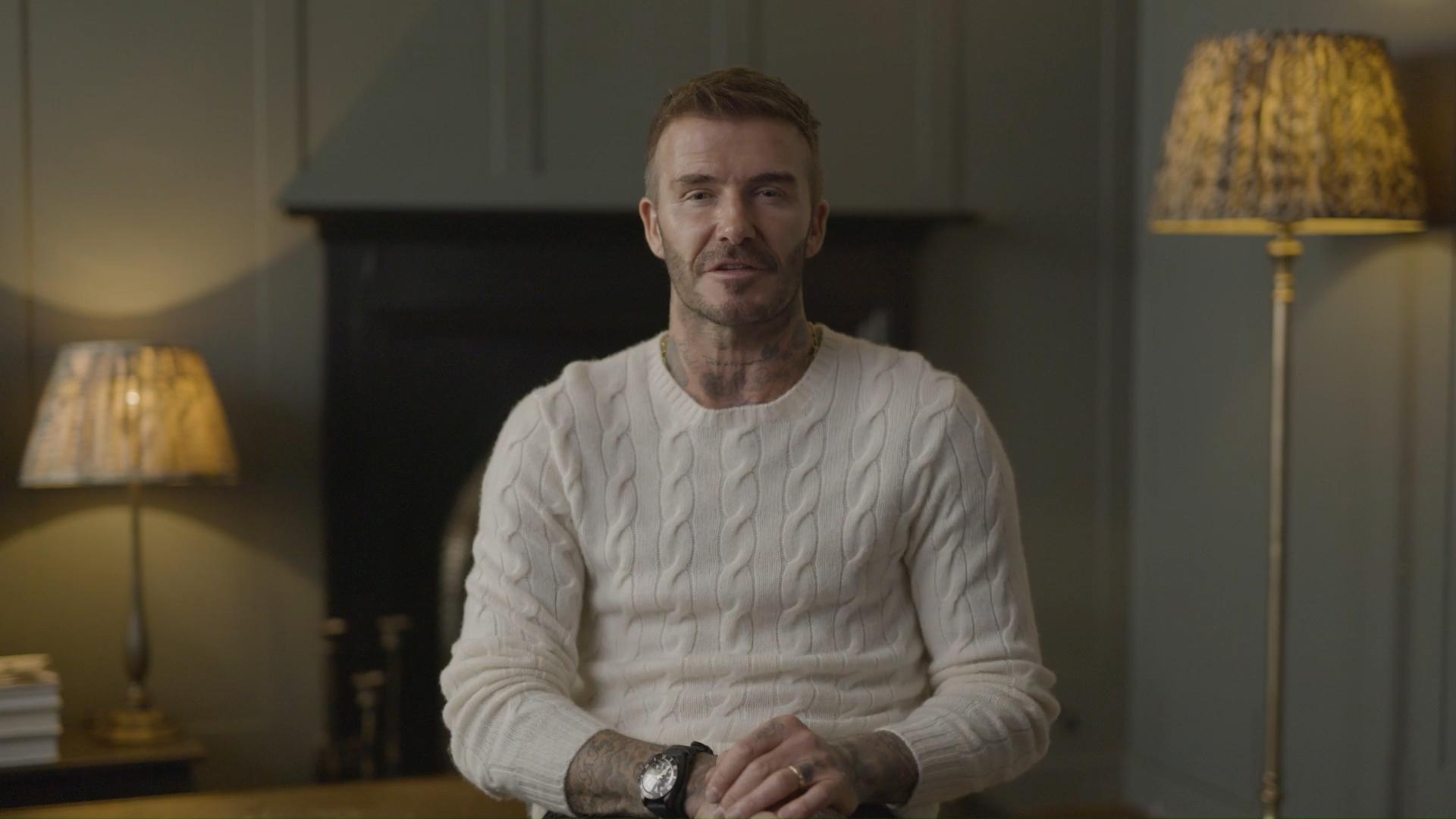 David Beckham supports Relief Run
