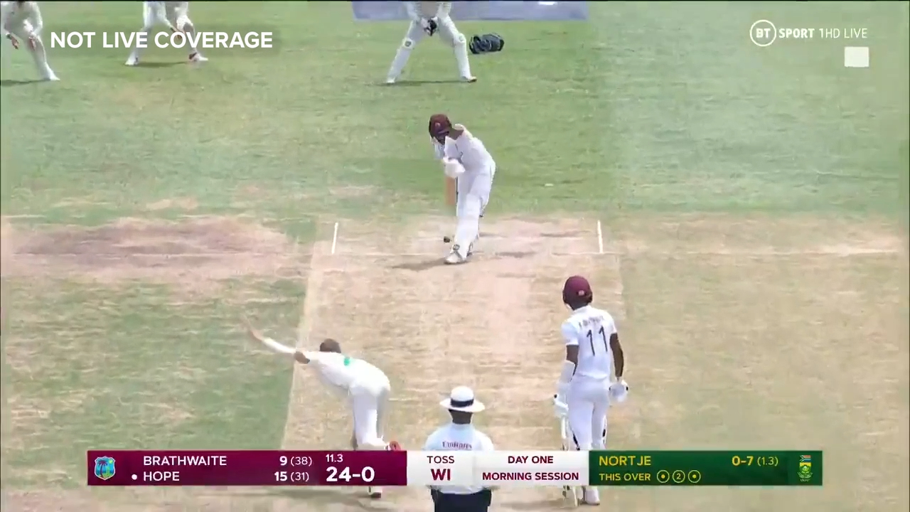 Proteas quick castles Windies opener with a jaffa