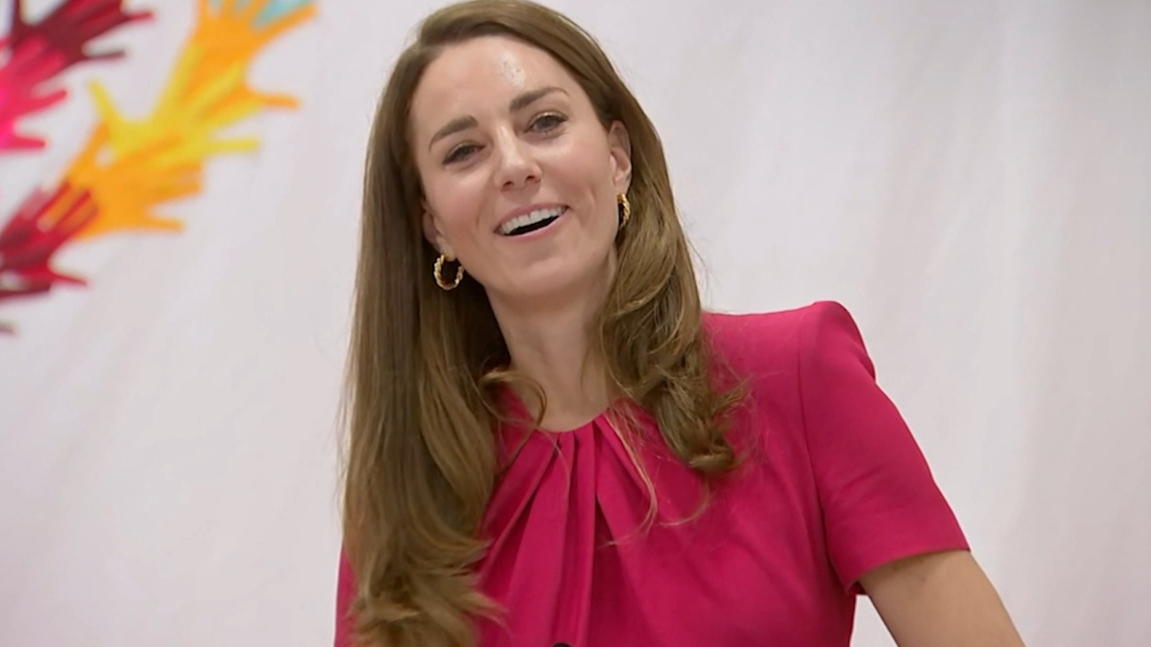 Kate Middleton says she 'can't wait to meet' Lilibet