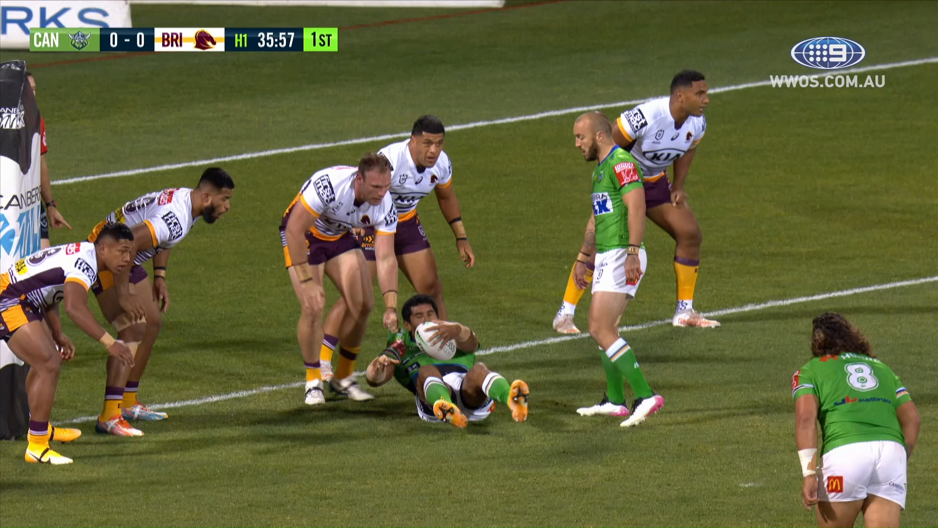NRL Highlights: The Raiders bounce back to trash the Broncos at home - Round 14