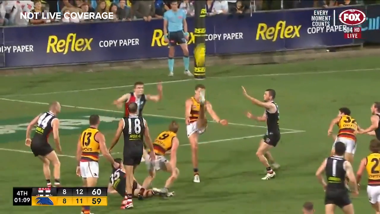 Thilthorpe wins it for the Crows
