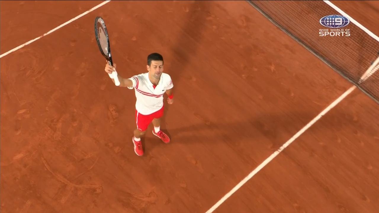 NovakDjokovicbooksaspotinRolandGarrosfinal