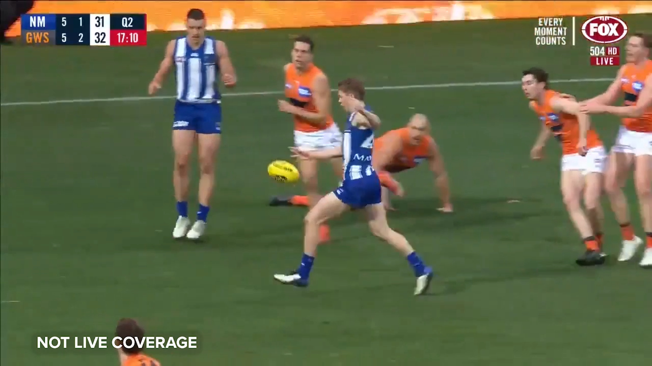 Powell puts Kangaroos back in front