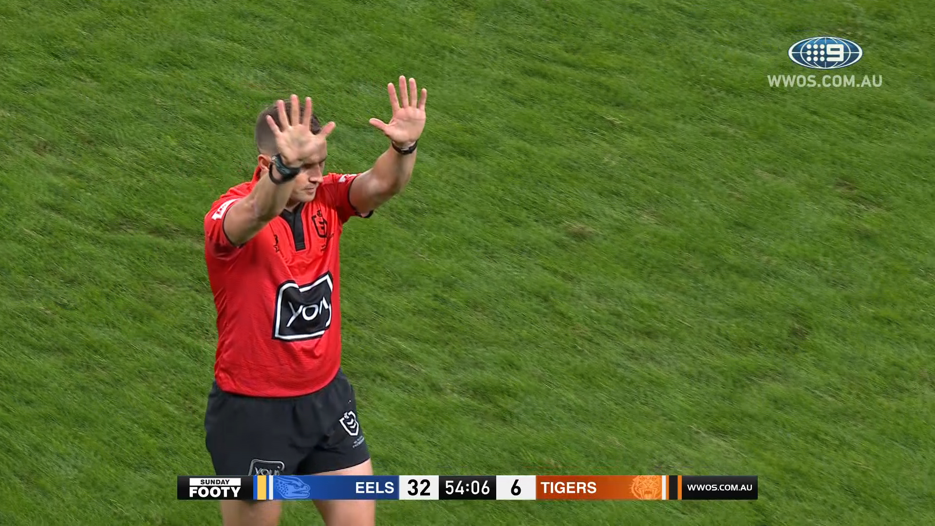NRL Highlights: The Eels smash the Tigers at Bankwest - Round 14
