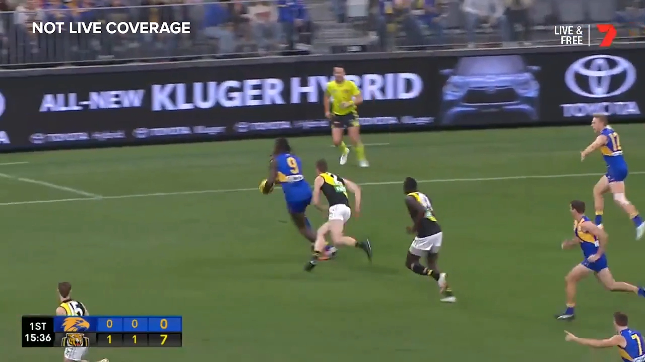 Naitanui snaps through Eagles' opener